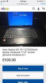 Acer aspire laptop notebook £100 Halifax Bradford