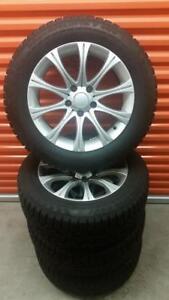 (H225) Pneus Hiver - Winter Tires 225-60-17 Nokian RunFlat 11/32