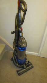 dyson dc 25 overdrive blue upright ball