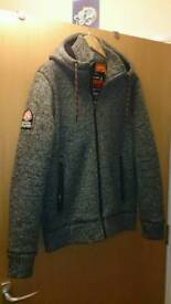 Superdry mountain expedition hoody size xl