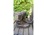 """Oxford """"Bone Dry"""" Motorcycle boots, lined biker boot, Size 6 / 39"""