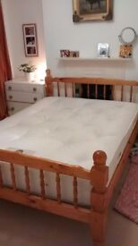 Used pocket sprung mattress