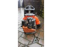 TANAKA PRO FORCE PETROL BACKPACK LEAF BLOWER POWERFULL PROFESSIONAL, MUST SEE