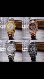 Rolex Watch with diamonds