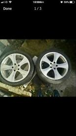 "Original Kahn Alloys 18"" Urgent Sale Required ( open to offers)"