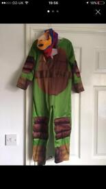 Teenage mutant ninja turtle outfit