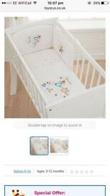 Bizzi Growin Doodles Crib Bedding Set