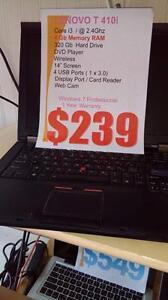 Lenovo T410i - i3 Intel Processor, 4Gb RAM, 320Gb HDD, Wireless, Windows 7 Pro and 1 Year Warranty