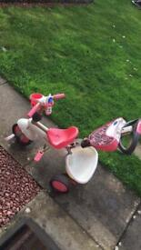 4 in 1 smart trike dream pink