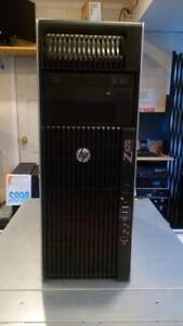 HP Z620 - 2 x E5-2640 v2 8 Cores, 24Gb, 128Gb SSD + 1Tb - K4000 - 1 Year Warranty - Free Shipping Canada WIde