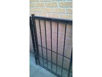 Heavy metal gate for your garden front or rear door - perfect bargain