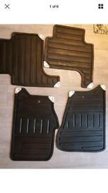 Range Rover rubber mats / boot liner 2005-2013