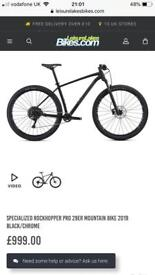 Specialized Rockhopper Pro 29er Mountain Bike 2019 Black/Chrome