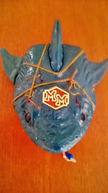 MIGHTY MAX Caught by the MAN EATER Original 90s Doom Zone playset