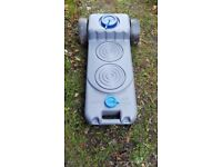 Waste water container with wheels £20 hardly used.