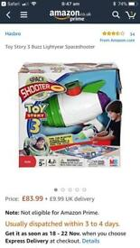 Toy Story 3 Space Shooter Target Game.