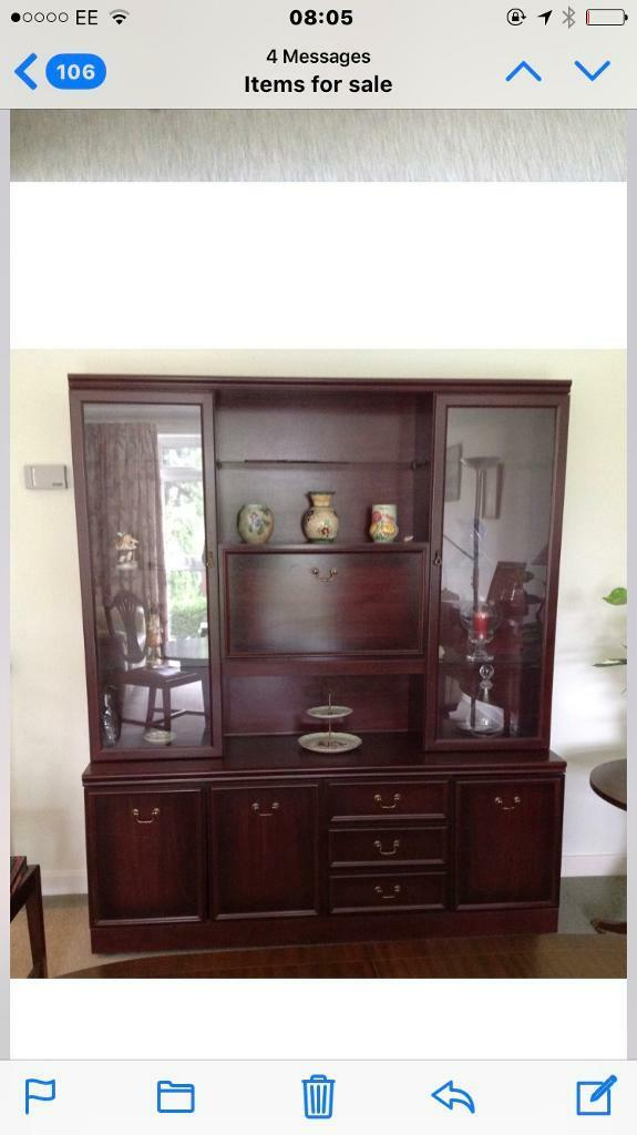 Large double unit with lights