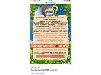 Emperor Field passes for Kendal calling