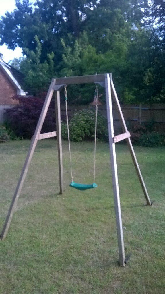 Childrens Tp Wooden Swing In West End Hampshire Gumtree