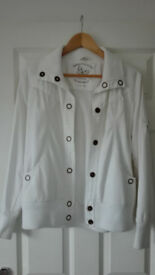 White women's jacket