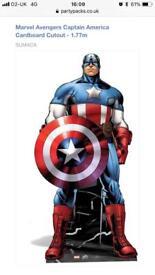 Superhero Cardboard cut outs