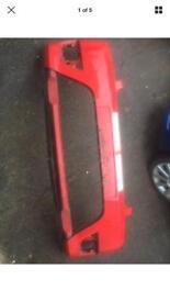 Fiesta st150 front bumper red