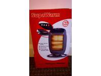 Supawarm Halogen Heater 1200w BRAND NEW in box