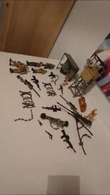Huge bundle of army toys