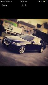 BMW 5 SERIES 2.0 520D M SPORT! AUTO! FULLY LOADED! HUGE SPEC! FACELIFT!