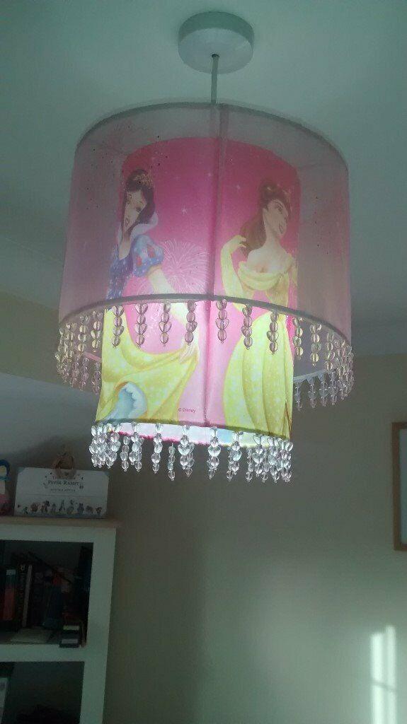 Disney Princess Lamp Shade In Fair Oak Hampshire Gumtree