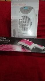 Silver Crest 4 in 1 iron brush and fan heater