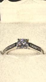 1.04ct Diamond Ring
