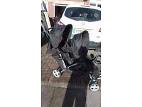 Graco double buggy