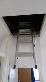 3 section loft ladder virtually new