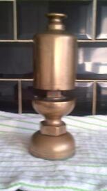 old brass steam locamotive whistle