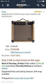Stagg 40 AA R UK 40W Amplifier w/ Spring Reverb
