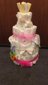 Fully Decorated Nappy Cake