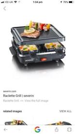 BRAND NEW! Severin Raclette Grill