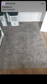 Dunelm Grey Rug 120x170