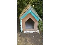hand made wooden dog kennel FREE