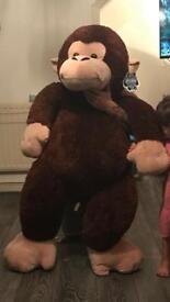 Big monkey teddy