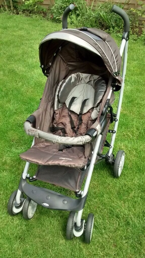 Graco Mosaic brown and silver, Umbrella, Single Seat Stroller,one ...