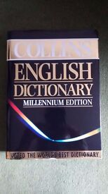 Collins English Dictionary with Thumb tabs