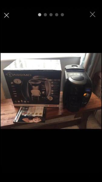 Bosch Tassimo Machine, T65 Titanium, BRITA Filter, With Box & Pods, used for sale  Aberdare, Rhondda Cynon Taf