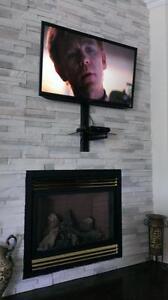 Installation/Installateur de support de Télé - support mural pour TV