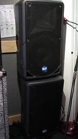 ART RCF 312Ai 312 Ai active PA monitor speakers