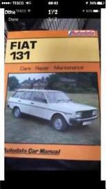 Auto data fiat 131 manual