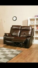 2 Seater Recliner Sofa - Brand New - Direct from the Wholesaler @ £185
