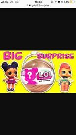 Lol big surprise doll !!! £90 Ono
