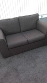 brown 2 seater 2 chairs only 2 months old grab a bargain only 285 cost 650 /